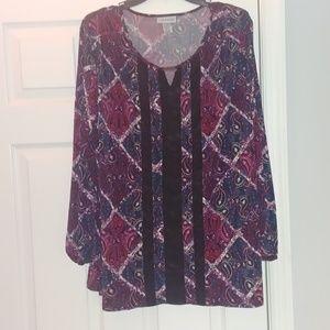 ⚡ Paisley pattern blouse